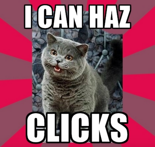 clicks for content marketing